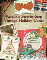 Artella's Step-by-Step Vintage Holiday Cards